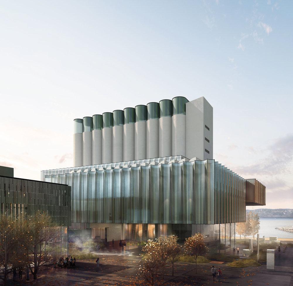 Kunstsilo - Art museum project in   Kristiansand, Norway