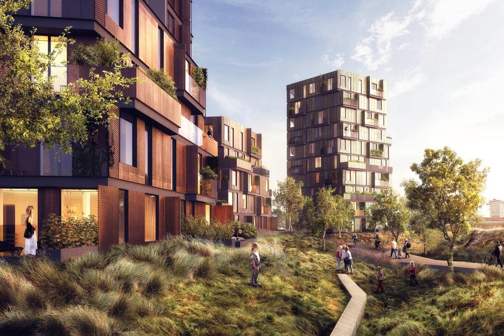 High Five - Dwelling concept from Copenhagen, Denmark.