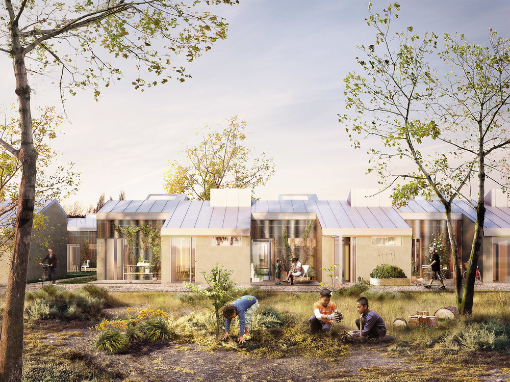 Public Housing, Egedal, Denmark