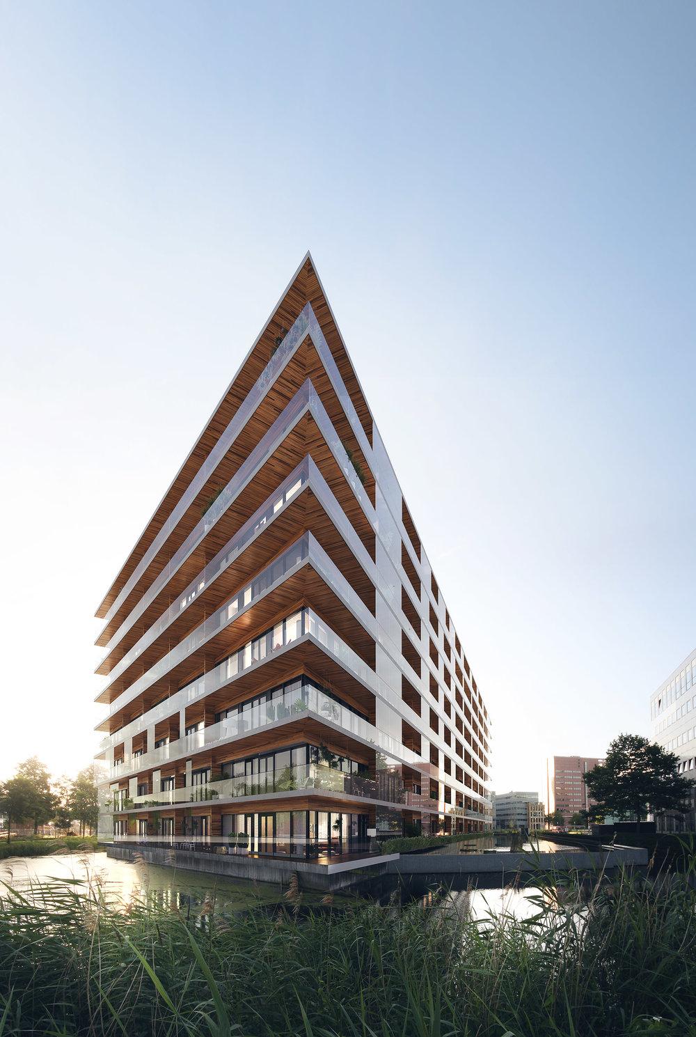 Keynes Building, Amsterdam, The Netherlands