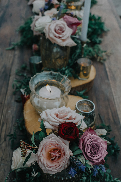 rustic-maroon-table-flowers-wedding-moody-auckland-gold.jpg