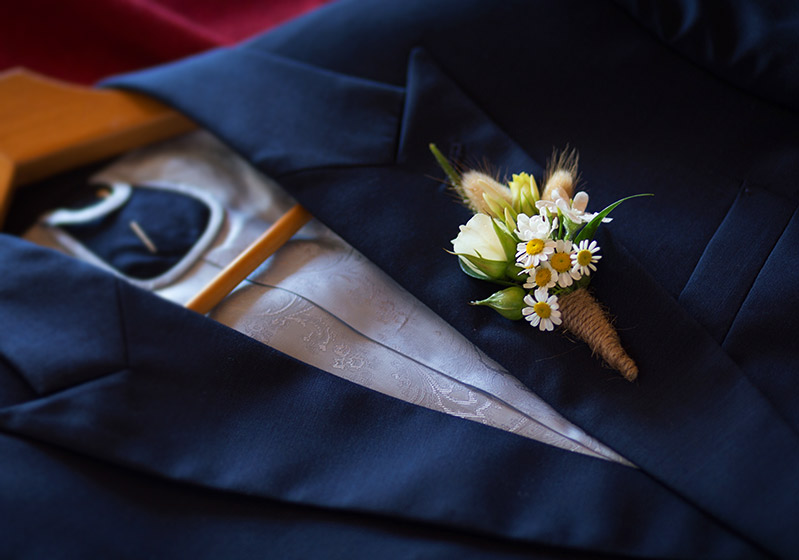 Buttonhole Boutonneire wild flowers rustic wedding auckland