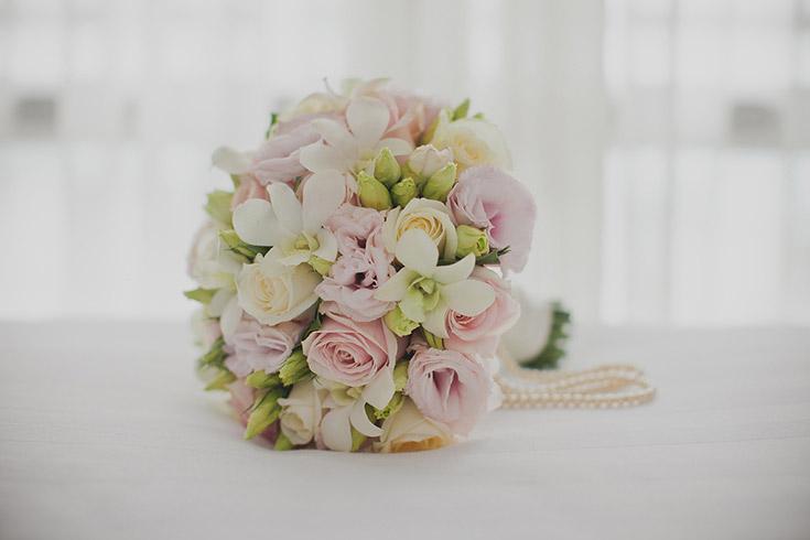Pricing blossom wedding flowers blush orchid pearls bouquet wedding flowers aucklandg junglespirit Images