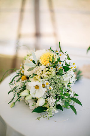 Blossom wedding flowers white yellow whimsical wedding flowers bouquet aucklandg mightylinksfo