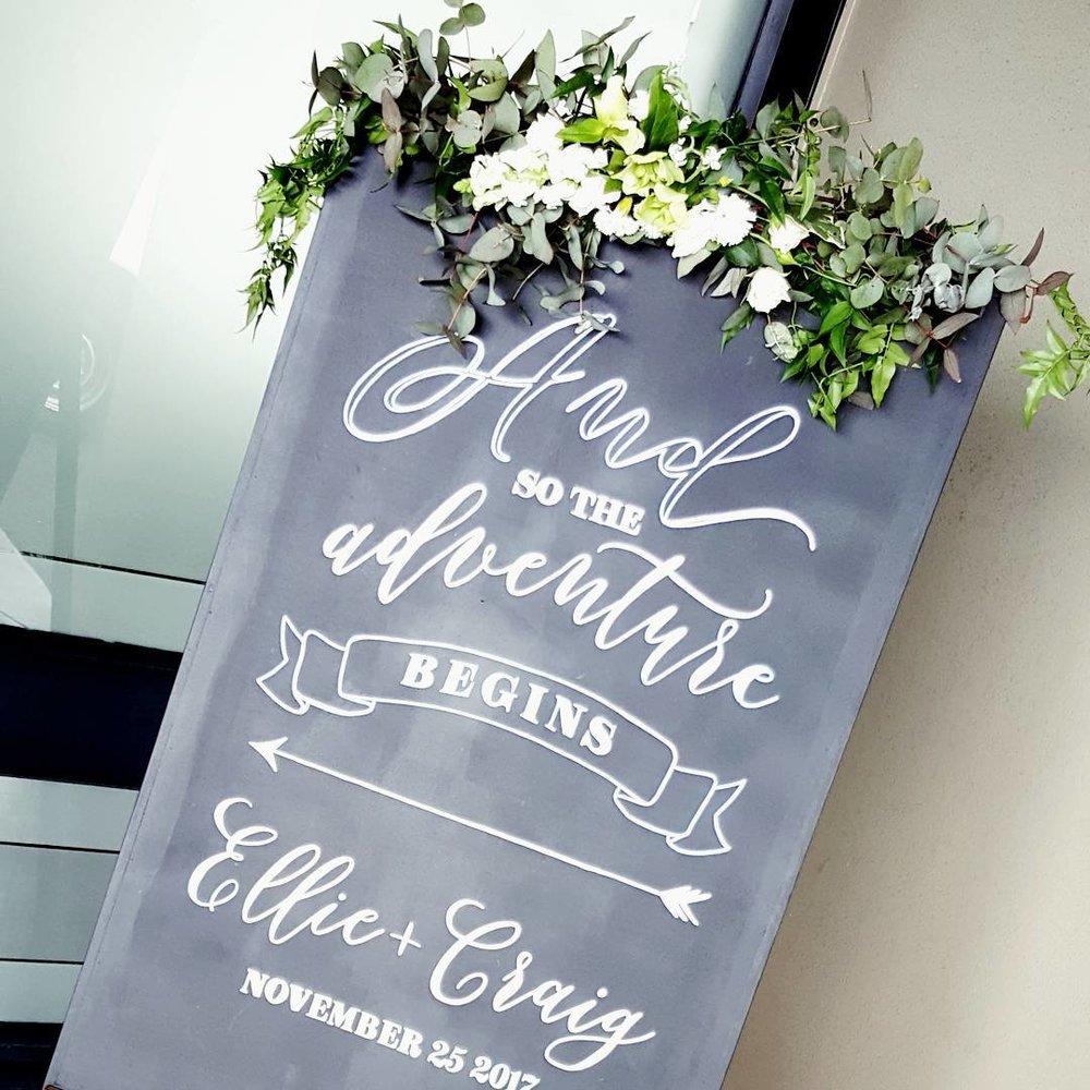 flowers-foliage-sign-wedding-welcome-auckland-blossom-florist