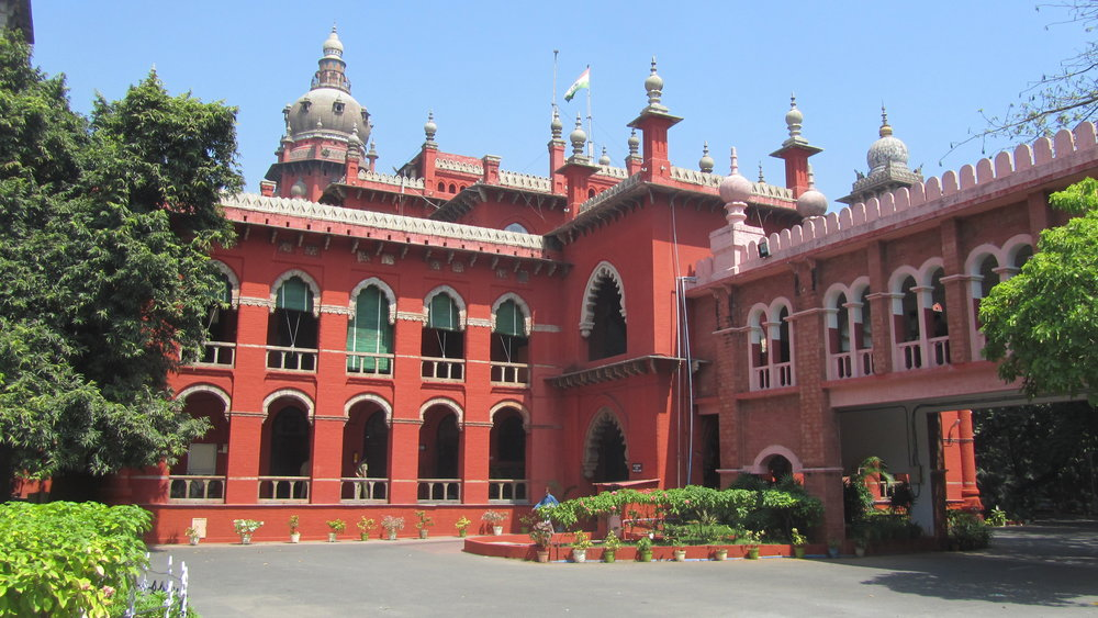Internship on one to one basis in Madras High Court