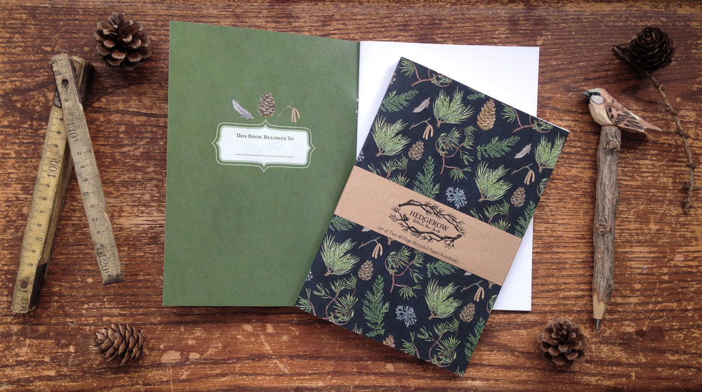 Forest A5 Notebooks