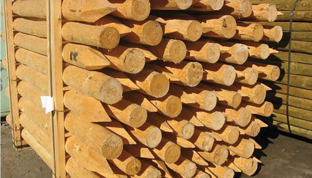 FENCEPOSTS  Product Codes :- 5FT  P4003 , 4FT  P4050     €50 OFF PALLET PRICE