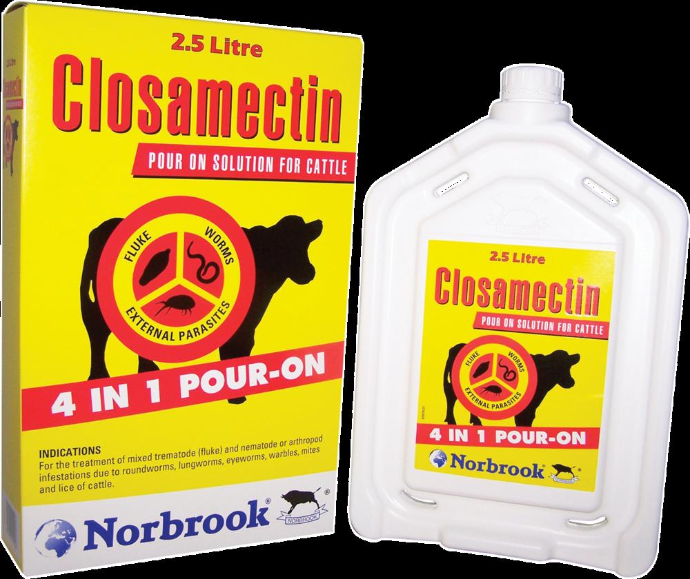 CLOSAMECTIN POURON   1L  N2515    €130   2.5L  N2516    €250