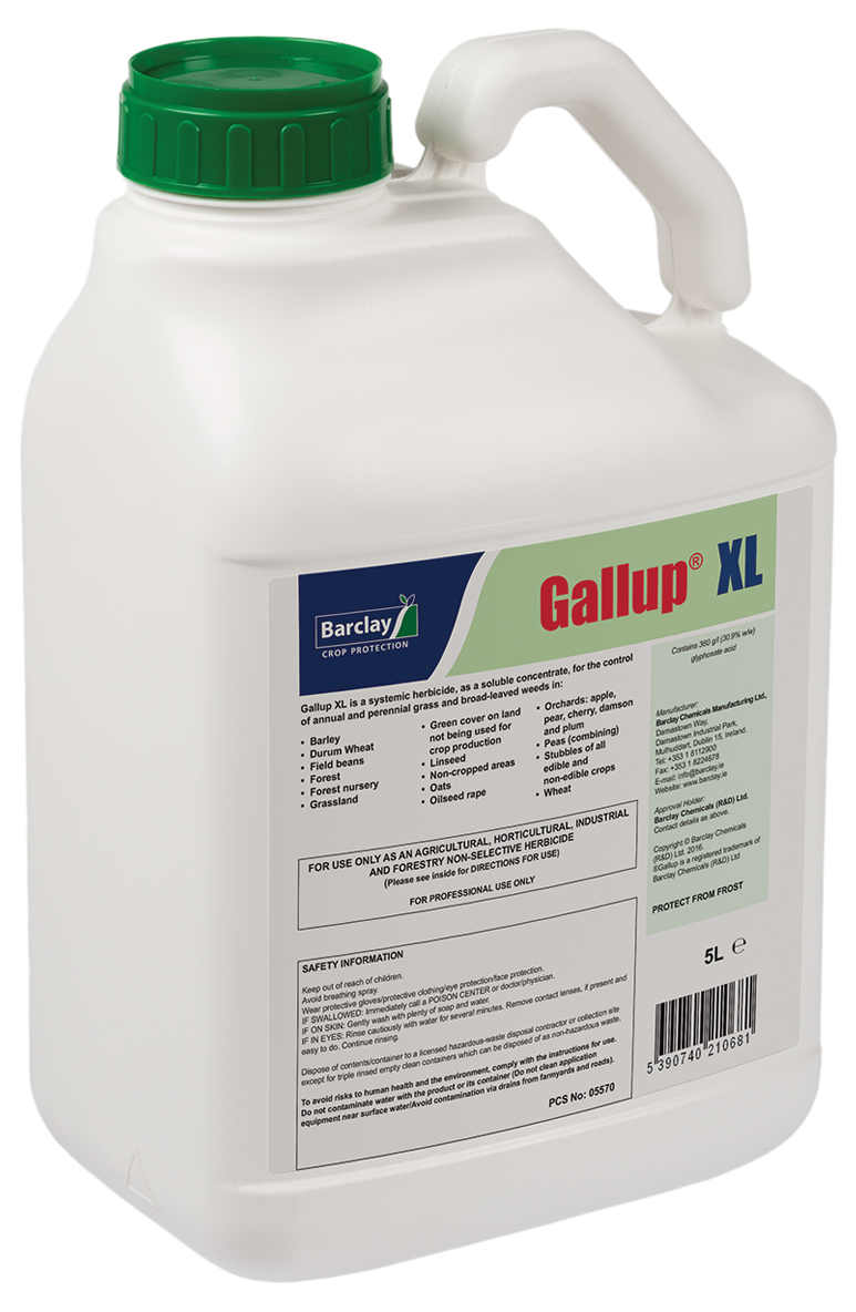 GALLUP XL  5L  N3513  NOW   ONLY €24.95   20L  N3514  NOW   ONLY €79