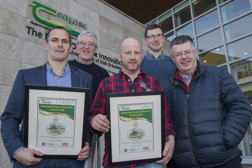 John Leahy, James O' Loughlin Teagasc, Danny Bermingham, Pat Tuohy Teagasc and Ger Courtney Teagasc.