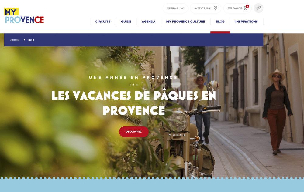 Web - Bouches du Rhône Tourisme