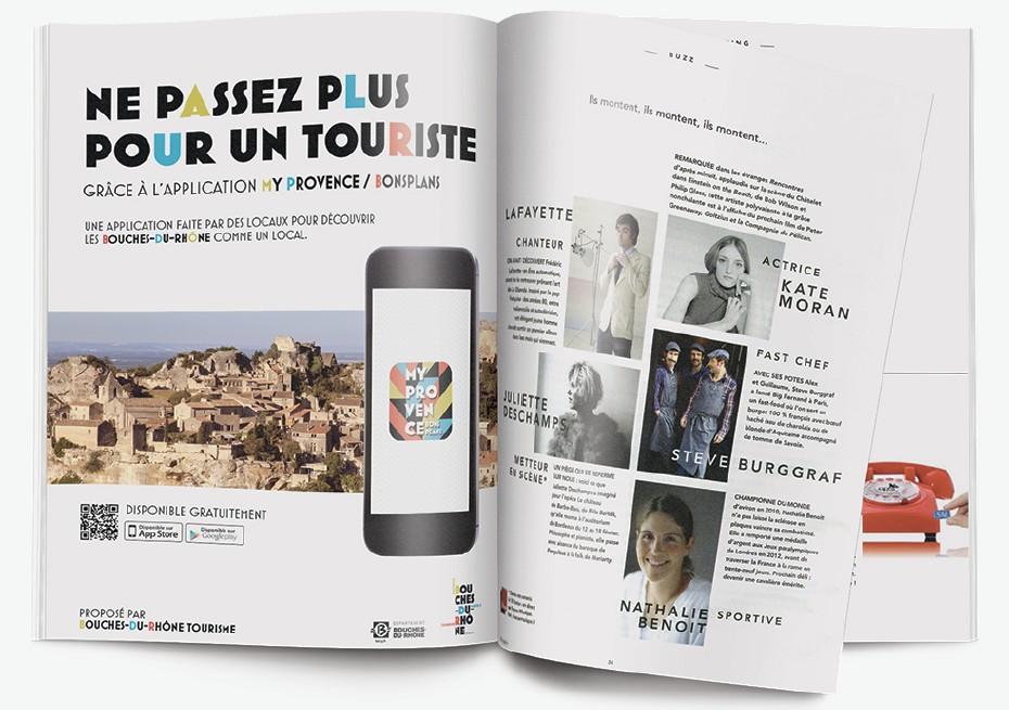 Publicité - Bouches du Rhône tourisme