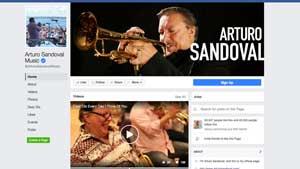 Arturo Sandoval's Facebook Page