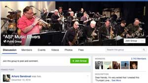 "Arturo Sandoval's Facebook Group - ""ASI"" Music Lovers"