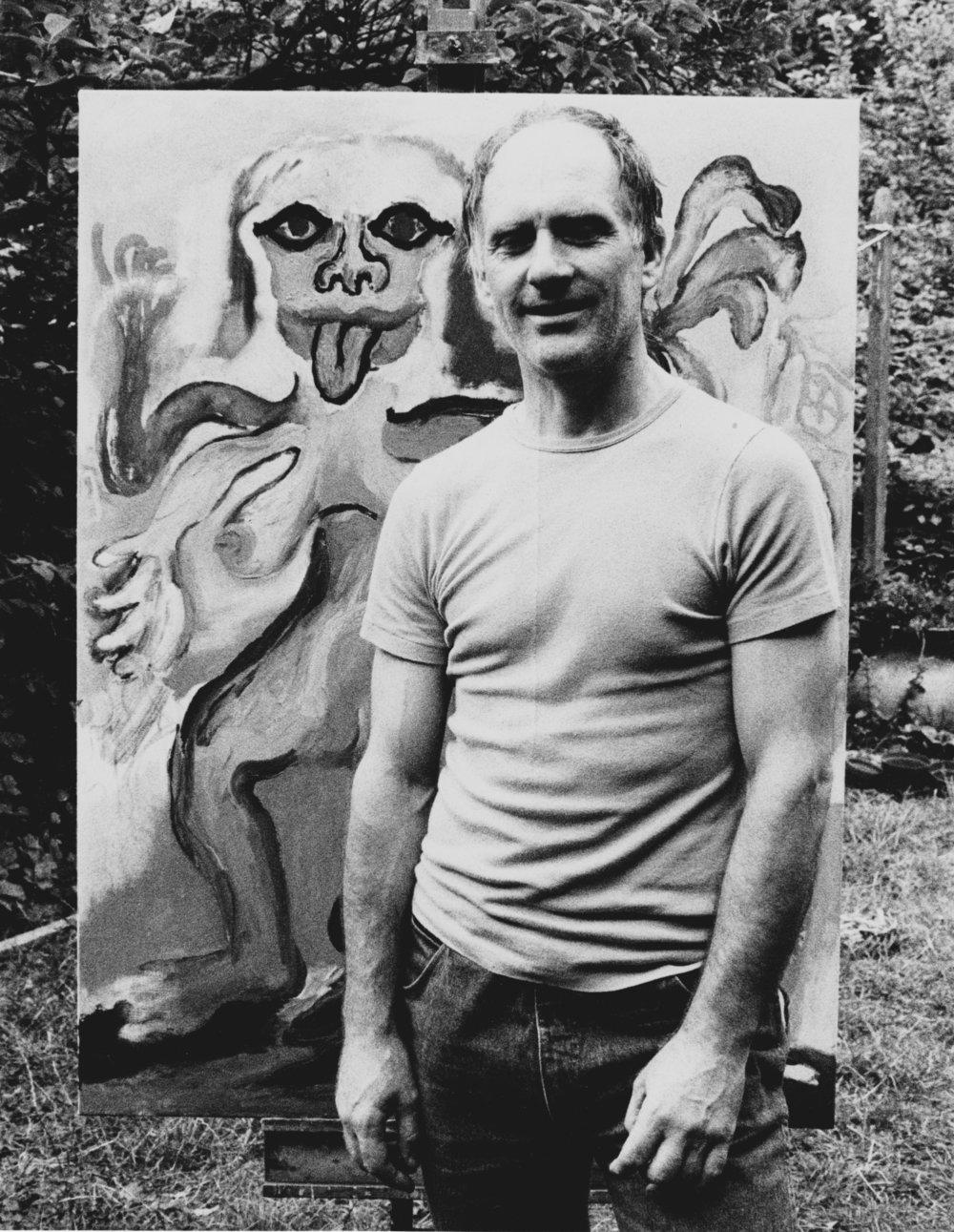 Ken Kiff RA (1935- 2001)figurative artist