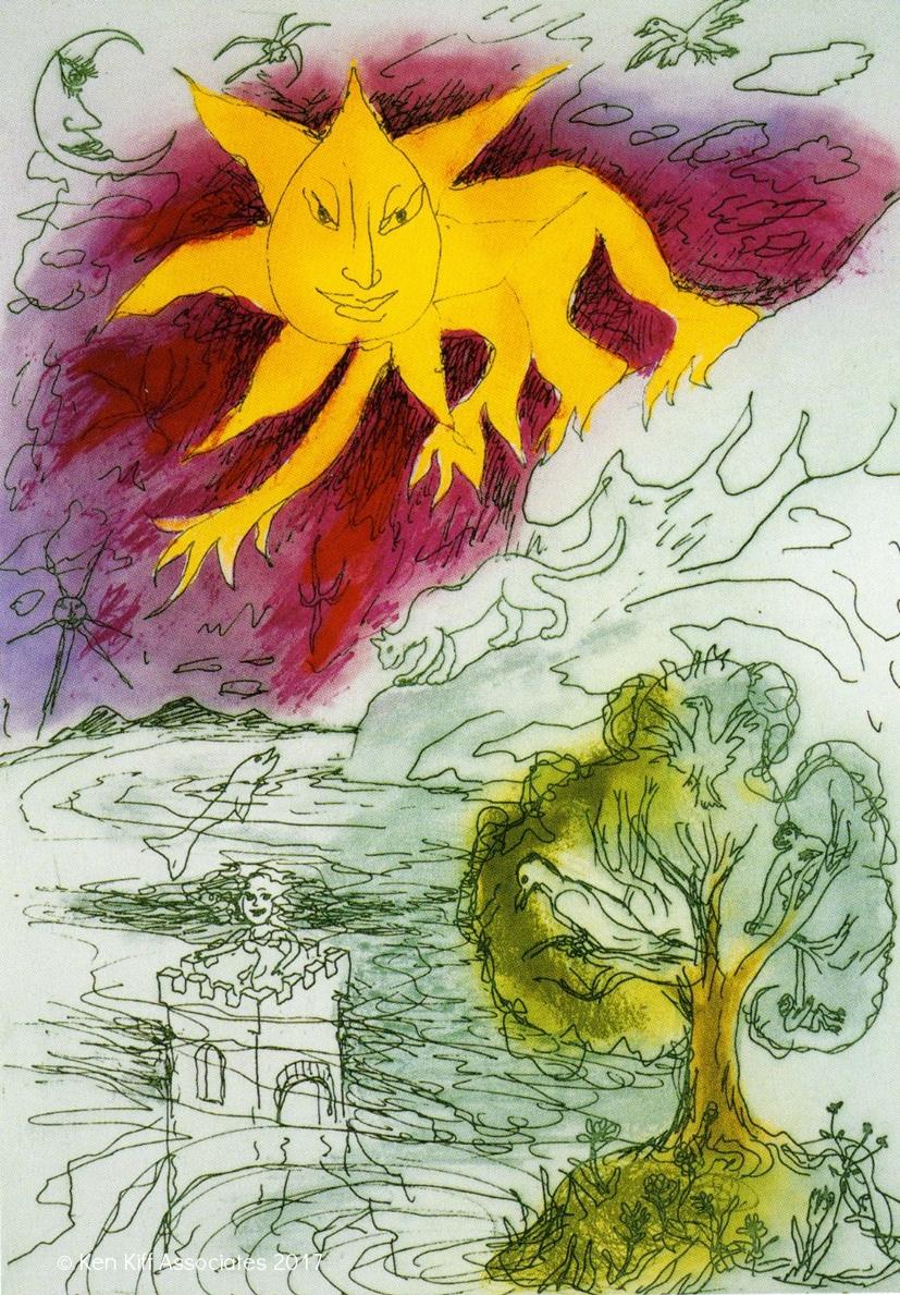 Ken Kiff - Castle Rising from the Sea