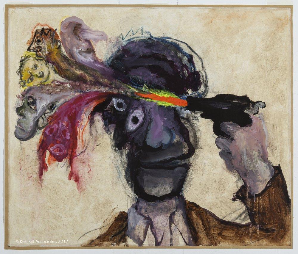 Ken Kiff - The Poet (Mayakovsky), Sequence #164