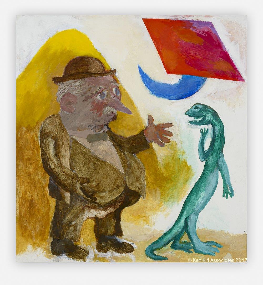 Ken Kiff - Ubu, Salamander and Symbol, Sequence #134