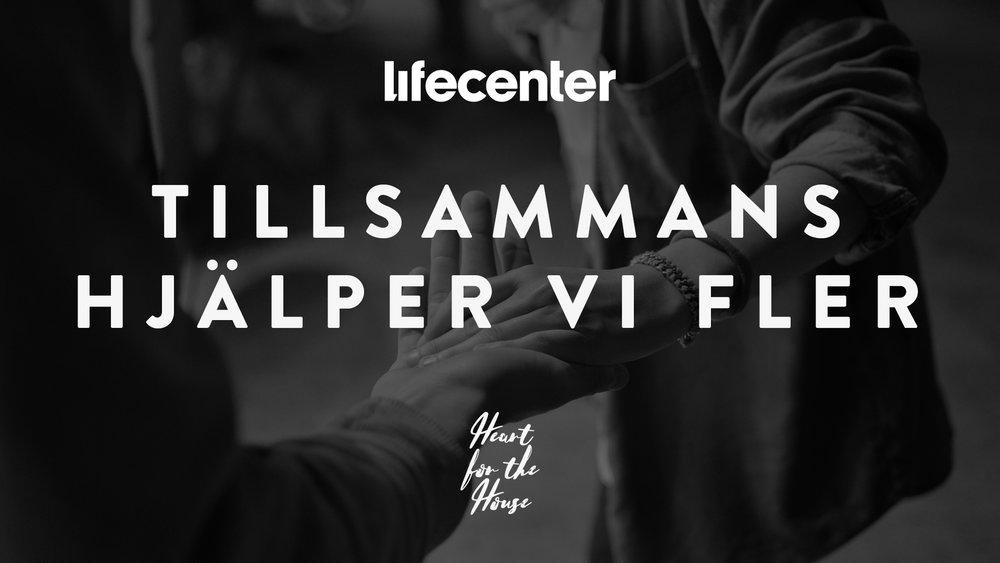 Lifecenter Church brinner för människor i utsatta situationer. Vi fortsätter hjälpa nysvenskar till ett nytt liv i Sverige. I vårt närområde i Västerås stöder vi Familjecentrum.
