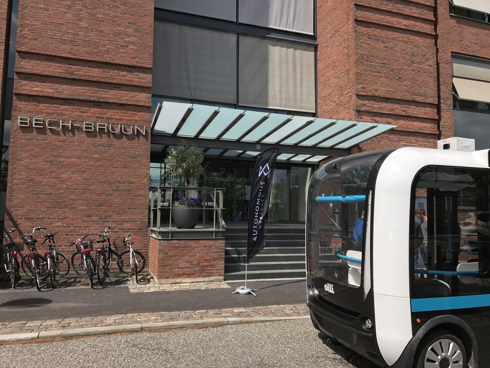 The self-driving minibus Olli