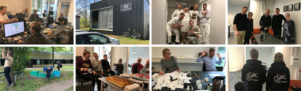 Meetings, training sessions and various celebrations. We've had lots of memorable moments in our office on Nordvej.