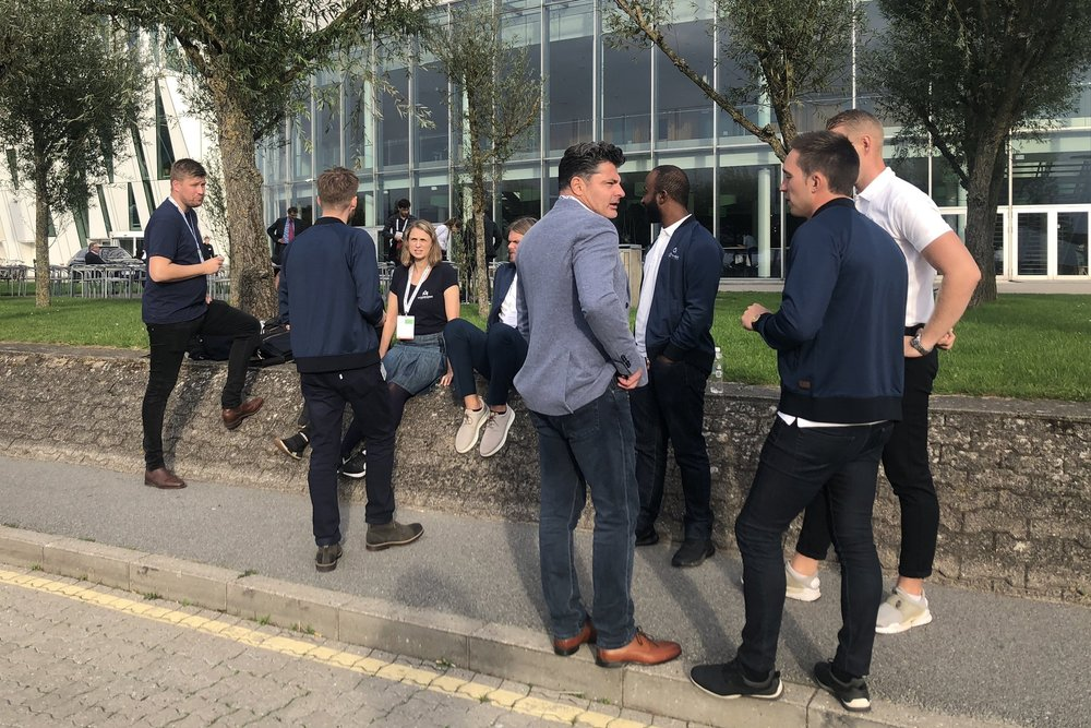 An almost sunny break at ITS World Congress