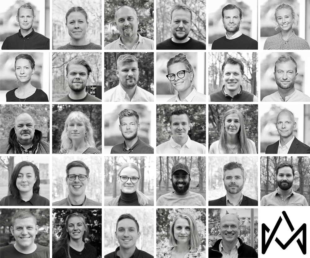 Our team as it stands in December 2018 – a bit bigger than a year ago!