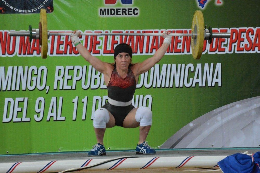 Cristina Gomez - Olympic Lifter plagued with injuries