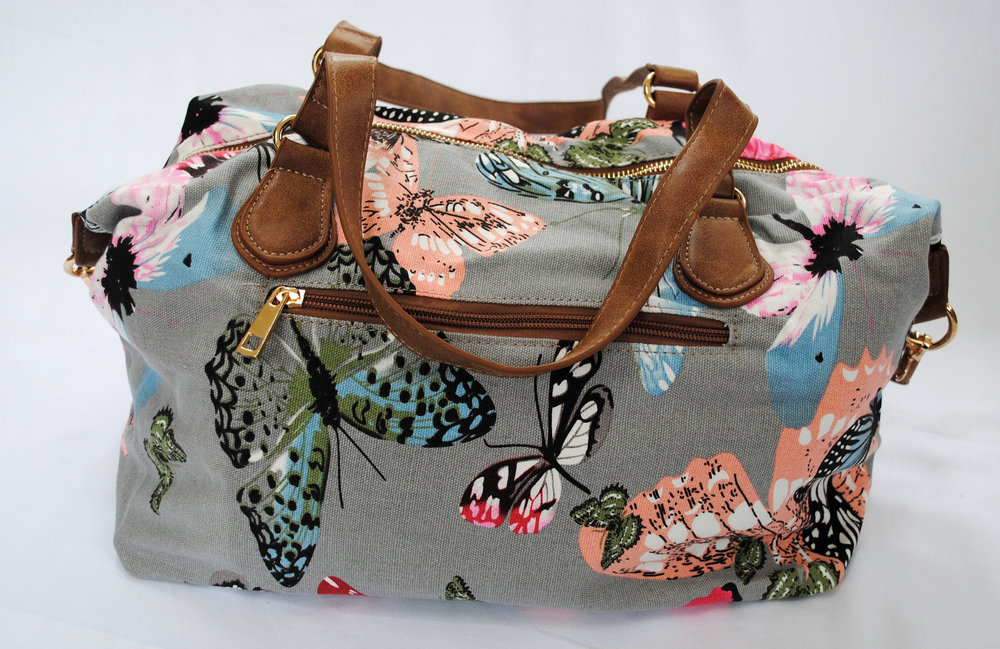 Olena Butterfly Print Bag