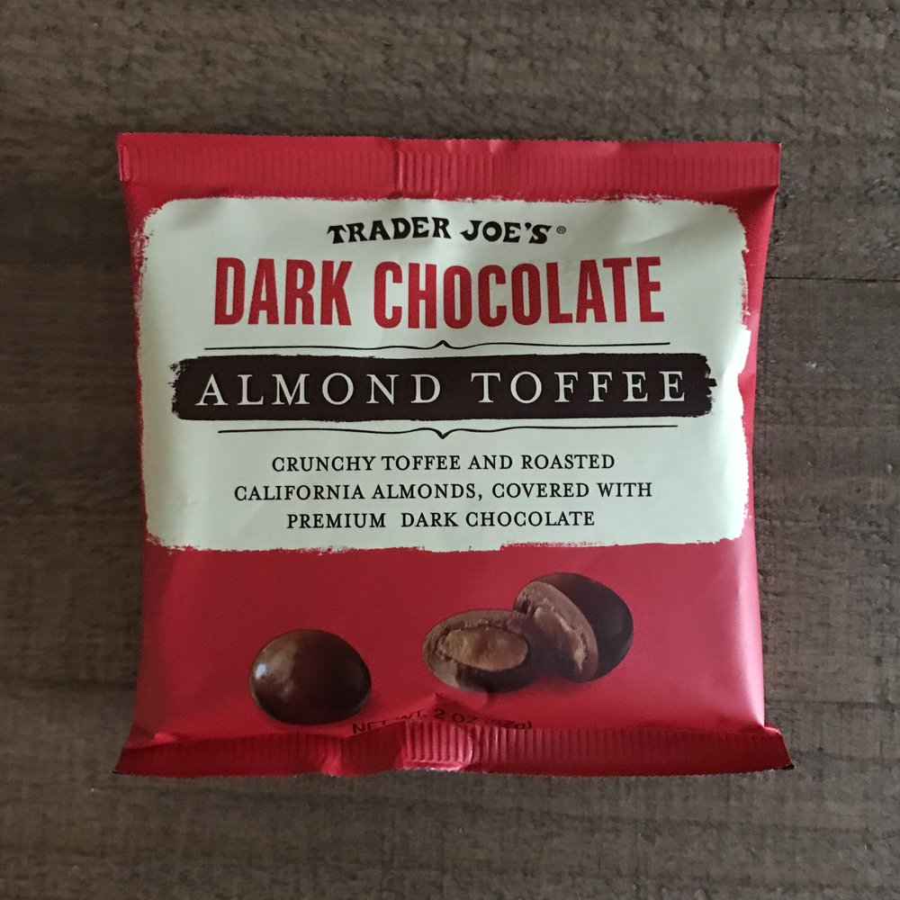 Dark Chocolate Almond Toffee