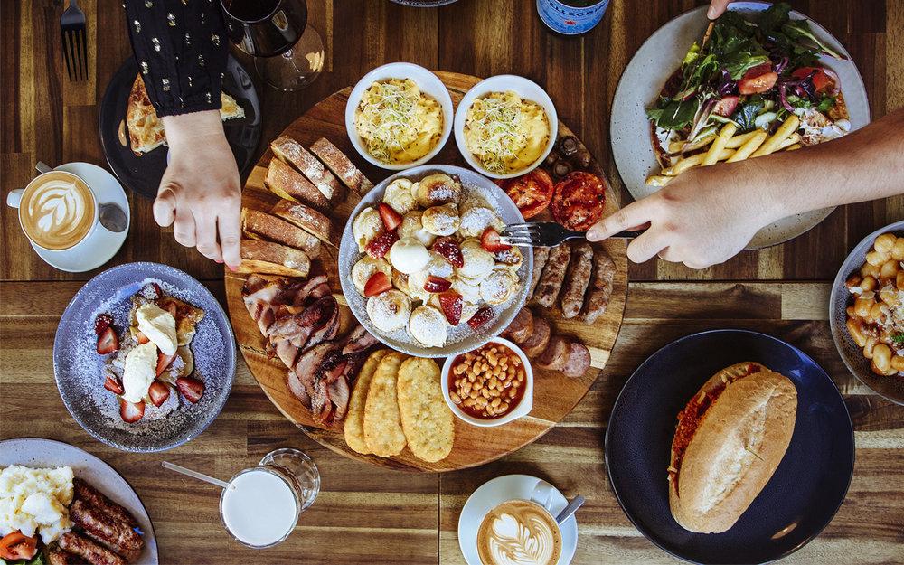 The Village Door Cafe Geelong Hero