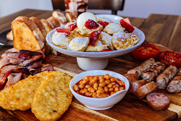 Breakfast - Join us for breakfast until 12PM. Our famous breakfast platters are a must try.