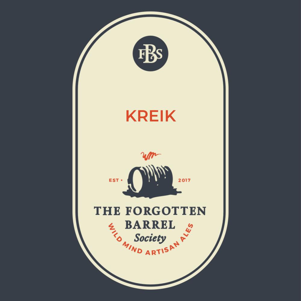 Wild Mind Artisan Ales - Forgotten Barrel Society Kreik