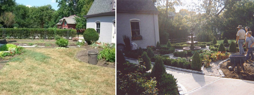 English Garden - Before & After