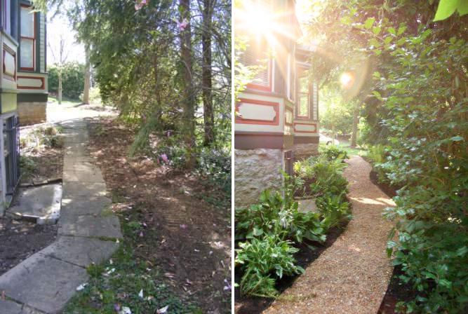 Walkway - Before & After