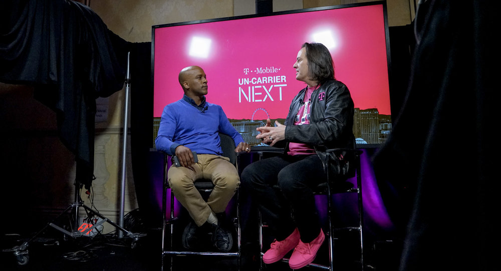 Legere was a long-haired kid who thought he'd never want to be an executive. Now he's rewriting the rules for being a CEO.