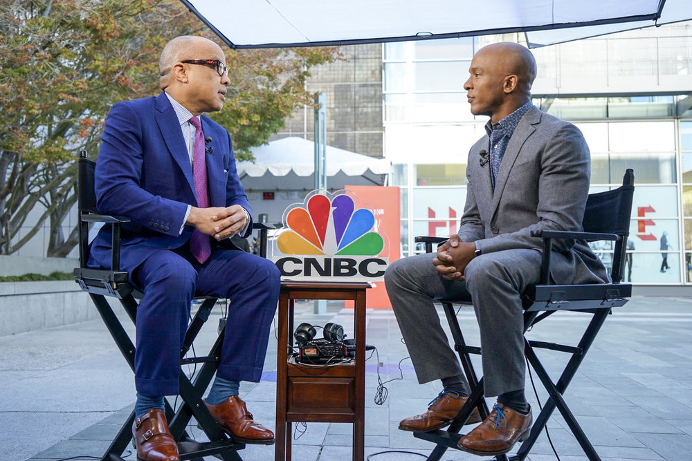 Darren Walker went from humble roots to Wall Street. Today he leads the multi-billion-dollar Ford Foundation.