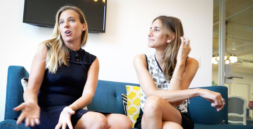 Danielle Weisberg and Carly Zakin met in college, and later decided to build their own media brand.