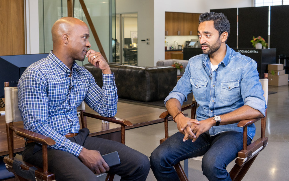 Chamath Palihapitiya was running AOL's instant messaging business at age 27. Not long after, he took a gamble on Facebook.