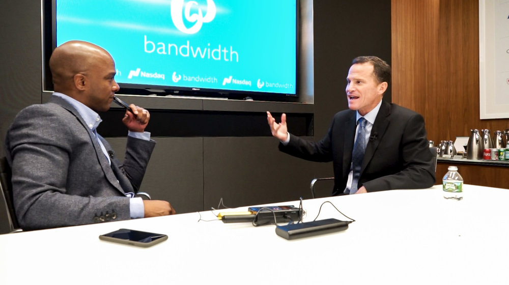 David Morken started Bandwidth when he was leaving the Marine Corps 18 years ago, and just took it public on the Nasdaq.