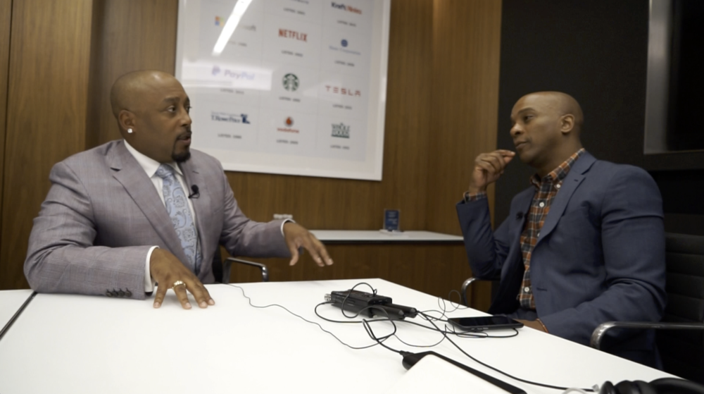 Daymond John started an urban clothing brand, and now is an investor, speaker, and a star of TV's Shark Tank.