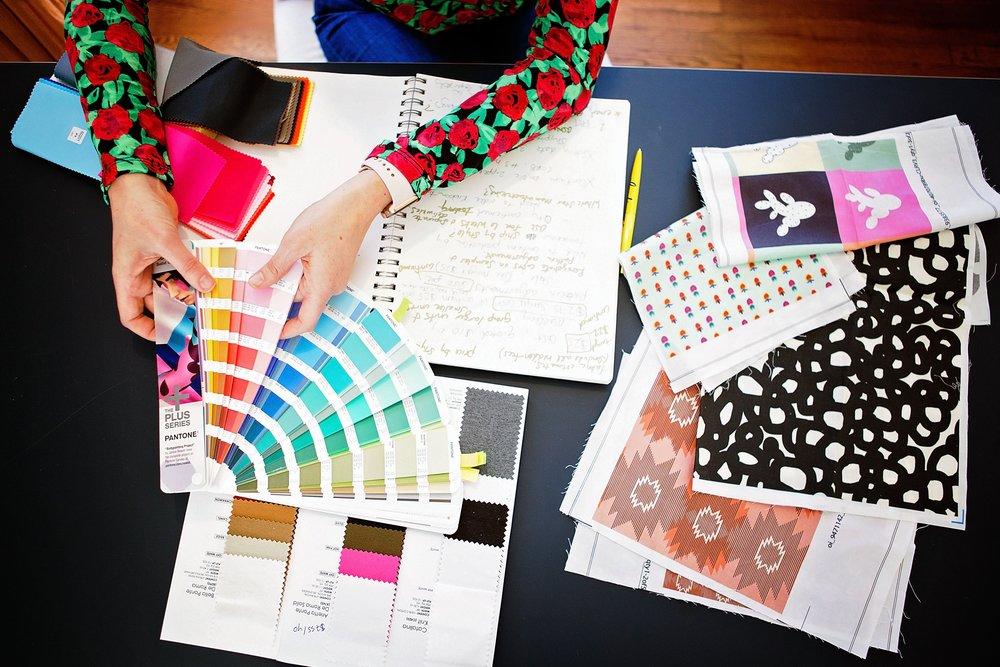 Custom Textile & Graphic Design - Living Life in Color