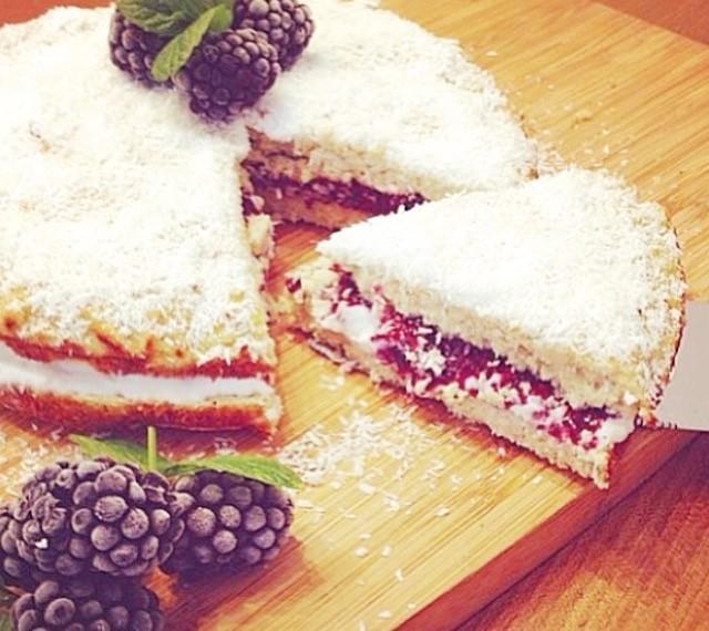 Grain-Free Victoria Sponge Cake