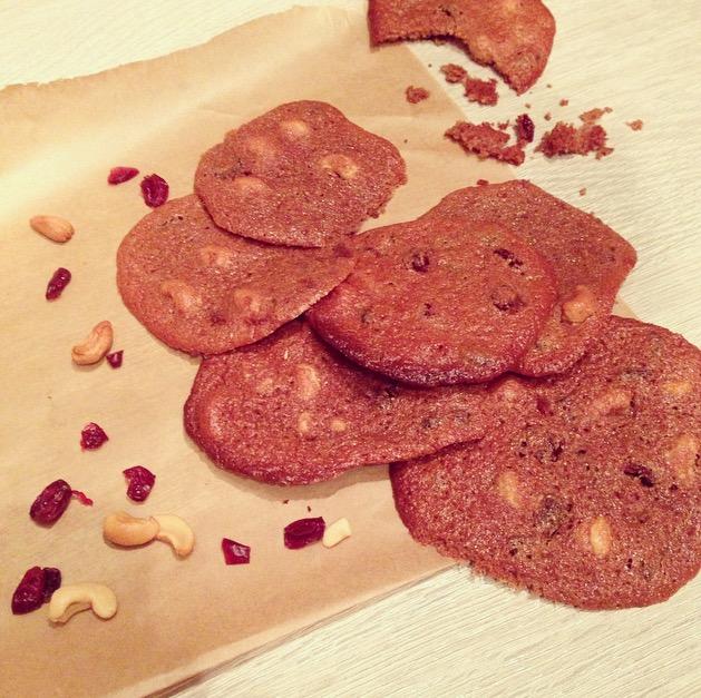 Tahini and Cashew Cookies