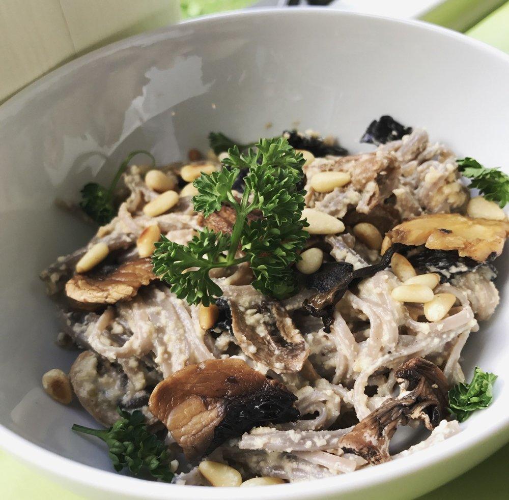 Buckwheat Vegan Carbonara