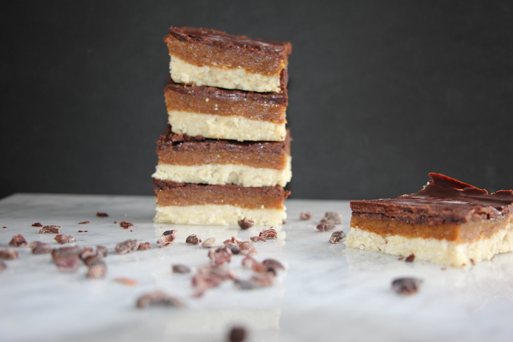 Chocolate Orange Millionaire Shortcakes