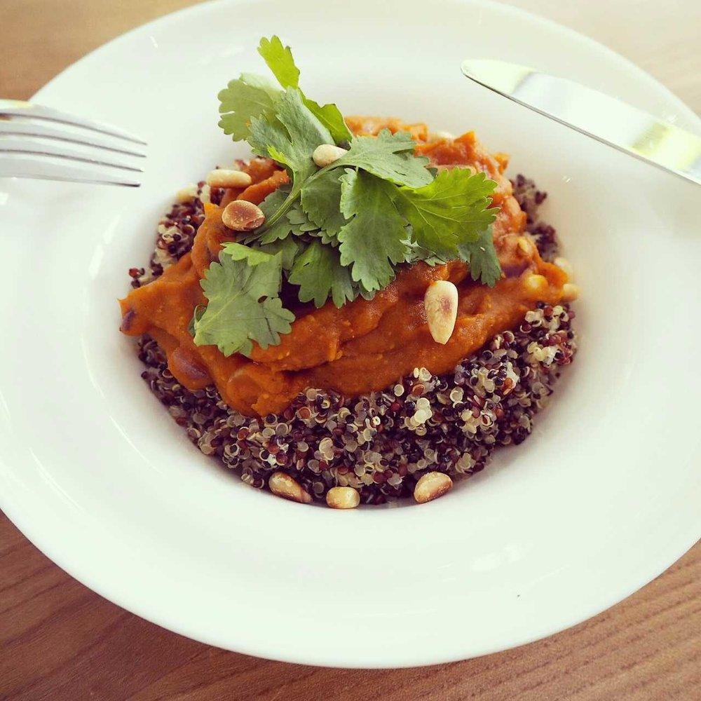 Quinoa Pumpkin Dish