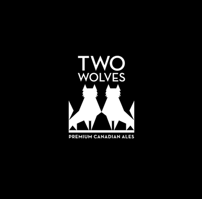 Two Wolves Brewing - At Two Wolves Brewing we believe that beer should not be complicated, or require a degree in brewing to enjoy. Two Wolves beers are easy-drinking, and approachable and have a wide spread consumer appeal yet, still focus on freshness, great taste and non-traditional styles.Two Wolves is also a company with a conscience. We are donating 5¢ from the purchase of every can and bottle across Canada to wolf research and the preservation of wolf habitats in this country. The preservation of wolves and our eco system is a major concern for all Canadians and this cause is close to our hearts so we are putting our money where it counts.We hope that you enjoy our brand and our products, and thank you for all the support that you have shown.- David Chadwick President/CEO + Co-Founder