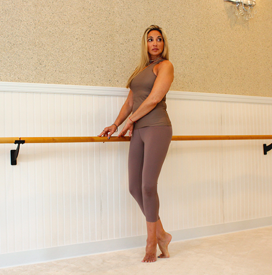 A Fitness Instructor 'Barre' None -